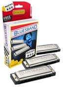 Blues Band ValuePack (C-, G-, A-major)