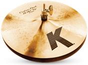 """13"""" K Custom dark hi hat"""