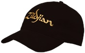 Baseball Cap With Gold Logo
