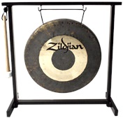"12"" Traditional Gong And Stand Set"