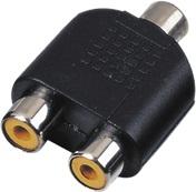 Adaptor 2x RCA F / RCA F