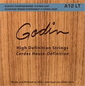 GODIN A12 LT Acoustic High Definition Strings