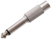 Adaptor mono jack M / RCA F