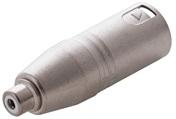 Adaptor XLR M / RCA F