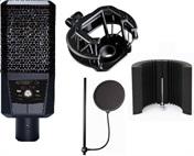 LCT 240 + odpružený držák + akustický paravan + K&M pop filter jako DÁREK