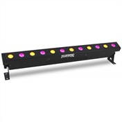 LED BAR 12x 18W RGBAW-UV, IR, DMX (použité)