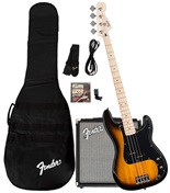 Stop Dreaming, Start Playing!™ Set: Affinity Series™ Precision Bass® with Fender® Rumble™ 15 Amp, Brown Sunburst, 230V EU