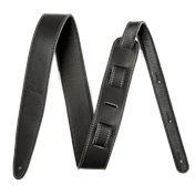 "FENDER Artisan Crafted Leather Strap 2"" Black"