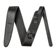 "FENDER Artisan Crafted Leather Strap 2.5"" Black"