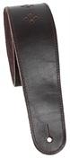 PERRI'S LEATHERS 6707 Perforated Premium Leather Mahagony