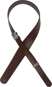 D'ADDARIO PLANET WAVES Fast Track Leather Strap Brown