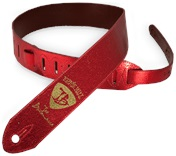 ERNIE BALL Joe Bonamassa Red Foil Guitar Strap