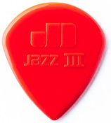 DUNLOP Jazz III Red Nylon