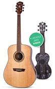 Akustická kytara Washburn + Ukulele jako dárek