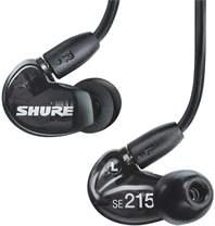 SHURE SE215-K-UNI-EFS