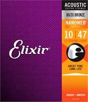 ELIXIR Nanoweb 80/20 Bronze 12-String Light