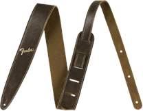 FENDER Distressed Leather Strap Brown