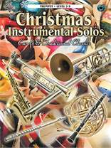 MS Christmas Solos for Trumpet Carols and Traditional Classics Book/CD