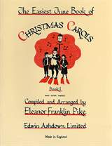 MS The Easiest Tune Book Of Christmas Carols - Book 1