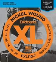 D'ADDARIO EXL110-7