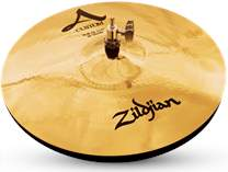 "ZILDJIAN 14"" A Custom hi hat brilliant"