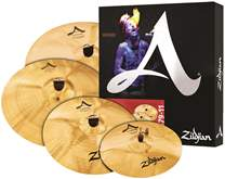 ZILDJIAN A Custom box set + 18 A custom crash