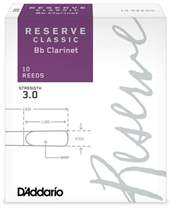 D'ADDARIO Reserve Classic Bb Clarinet 10 - 3.0