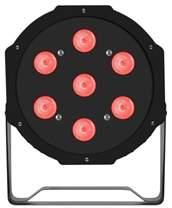 FRACTAL PAR LED 7 x 10 W
