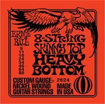 ERNIE BALL Nickel Wound 8-String Skinny Top Heavy Bottom