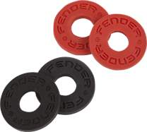 FENDER Strap Blocks Black & Red