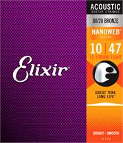 ELIXIR Nanoweb 80/20 Bronze 12-String Light