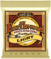 ERNIE BALL Earthwood 80/20 Bronze Light