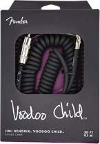 FENDER Voodoo Child Cable 30' Black