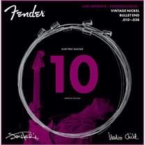 FENDER Hendrix Voodoo Child Bullet Nickel 10-38