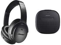 QuietComfort 35 II + BOSE SoundLink Micro Bluetooth speaker