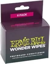 ERNIE BALL Wonder Wipes Fretboard Conditioner 6-Pack
