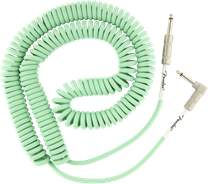 FENDER Original Series 30' Coil Cable Surf Green