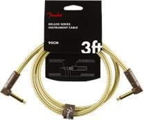 FENDER Deluxe Series 3' Instrument Cable Tweed