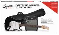 FENDER SQUIER Stratocaster Pack LRL BK