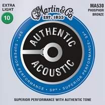 MARTIN Authentic SP 92/8 Phosphor Bronze Extra Light