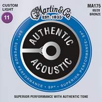 MARTIN Authentic SP 80/20 Bronze Custom Light