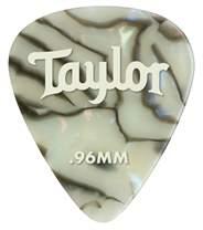 TAYLOR Celluloid Picks 0.96 Abalone