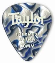 TAYLOR Premium Darktone Thermex Ultra Picks 351 1.0 Blue Swirl