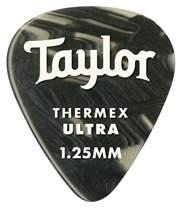 TAYLOR Premium Darktone Thermex Ultra Picks 351 1.25 Black Onyx