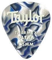 TAYLOR Premium Darktone Thermex Ultra Picks 351 1.50 Blue Swirl