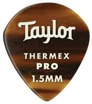 TAYLOR Premium Darktone Thermex Pro Picks 651 1.50 Tortoise Shell