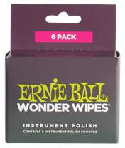ERNIE BALL Wonder Wipes Instrument Polish 6-Pack