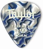 TAYLOR Premium Darktone Thermex Ultra Picks 351 1.25 Blue Swirl