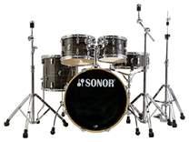 SONOR AQ1 Woodgrain Black Stage Set