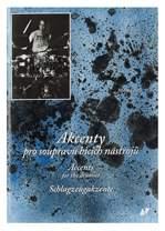 KN Akcenty pro soupravu bicích nástrojů - kniha s CD - Miloš Veselý